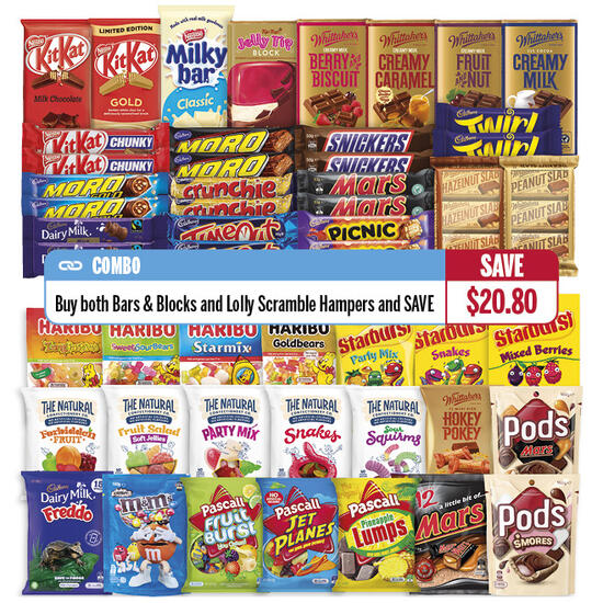 Hamper: Lolly Combo Save over $20 | Code: 802