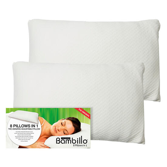 Hamper: Bambillo 8 Pillows in 1 - Two Pack | Code: 77413