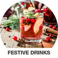 Festive Drinks from Chrisco Dist.