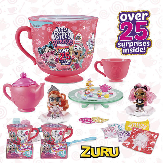 Hamper: Itty Bitty Pretty's Big Tea Cup Playset and Collectibles Bundle | Code: 33169